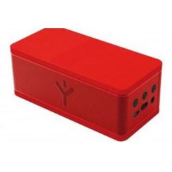 Haut-parleurs Bluetooth portable Party Rock Rouge