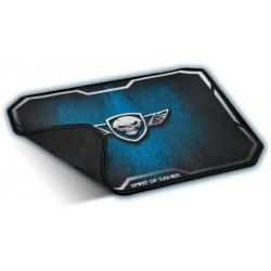 Tapis de souris gaming SPIRIT OF GAMER Winged Skull bleu