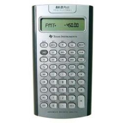 Calculatrice Financière TEXAS INSTRUMENT BA II Plus Pro