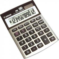 Calculatrice Bureau 12 Chif. CANON LS-120 TSG -10x14cm - Solaire/Pile