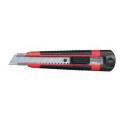 Cutter autobloquant bi-matière avec lame de 18 mm SAFETOOL