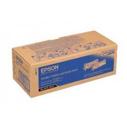 Pack de 2 Toners EPSON - C13S050631 - Noir C-2900/CX29 **