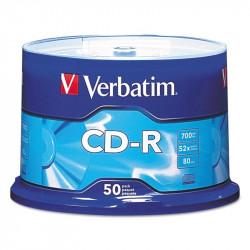 CD-R VERBATIM 700 Mo/52x/Spindle 50