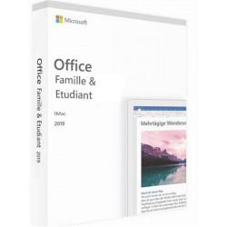 MICROSOFT Office 2019 Famille et Etudiant PC/MAC