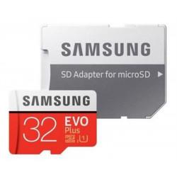 Carte MicroSDHC  32Go - Classe 10 - SAMSUNG  + adaptateur **