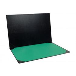 Sous-Main avec poche intér. + Buvard Vert 40 x 60 cm  NOIR EXACOMPTA