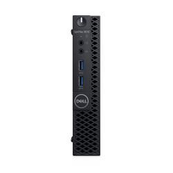 DELL OptiPlex 3070 i3-9100T MFF Intel® Core™ i3 de 9e génération 8 Go DDR4-SDRAM 256 Go SSD Windows 10 Pro Mini PC Noir