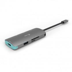 i-tec Metal USB-C Nano Dock 4K HDMI + Power Delivery 100 W