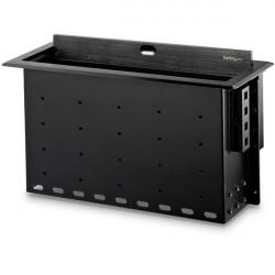 StarTech.com BOX4MODULE range-câbles Bureau Boîtier de câbles Noir 1 pièce(s)