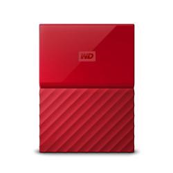 Western Digital My Passport disque dur externe 2000 Go Rouge