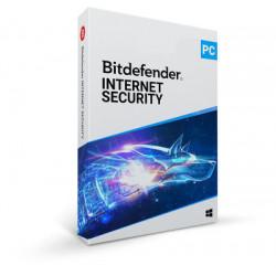 Bitdefender Internet Security 2018 5 licence(s) 2 année(s)
