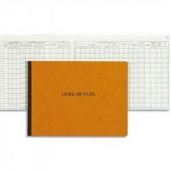 Livre de paie - 24 x 32cm Horizontal - 52 Pages