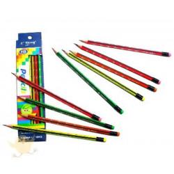 Crayon Papier 2B - Bout Gomme (à unité)