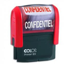 Timbre Formule CONFIDENTIEL COLOP Printer 20 (14 x 38mm) ROUGE
