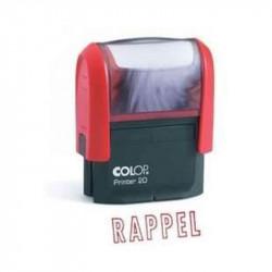 Timbre Formule RAPPEL COLOP Printer 20 (14 x 38mm) - ROUGE