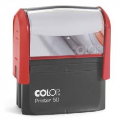 Timbre Monture COLOP Printer 50 (30 x 69mm) - 7 Lignes