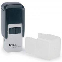 Timbre Monture COLOP Printer Q12 (12 x 12mm) - 2 Lignes