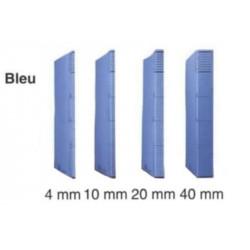Dossier DACOTA 315 x 230mm - 320g - 1 poche soufflet  10mm BLEU CLAIR