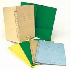 Dossier FADICLASS 320x230mm - 760g - 2 Soufflets, 40mm - MARRON CLAIR