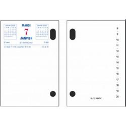 Ephéméride 2022 (Date à gauche/ Rdv à droite 8x12cm (sans socle)