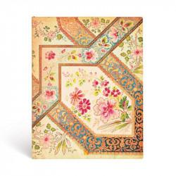 Carnet souple Ultra Filigrane Floral Ivoire 180x230 240p. lignées