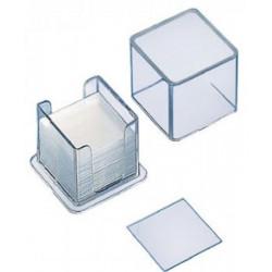 Lamelles couvre objets - Epaisseur 0.13 à 0.16 mm (par 100)