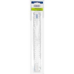 Regle flexible en plastique + poignée 30cm ULMANN - Incassable