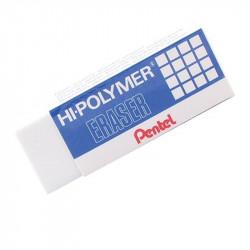 Gomme blanche PENTEL Hi-Polymer - Réf: ZEH10