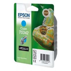 Cart EPSON - T0342 - Caméléon - Cyan - Stylus Photo 2100 **