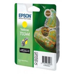 Cart EPSON - T0344 - Caméléon - Jaune - Stylus Photo 2100