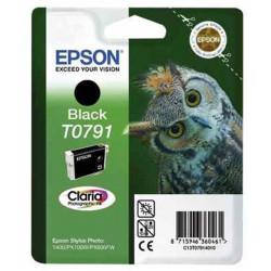 Cart EPSON - T0791 - Chouette - Noir - SP1400 / P50 / PX700W / 800 FW