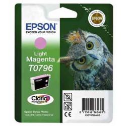 Cart EPSON - T0796 - Chouette - Magenta clair - SP1400 / P50 / PX700W
