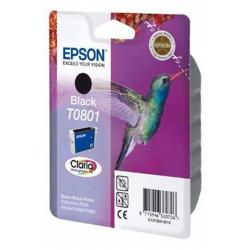 Cart EPSON - T0801 - Colibri - Noir R265/R360/RX560/RX585/RX685