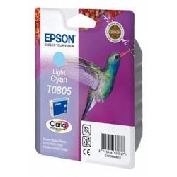Cart EPSON - T0805 - Colibri - Cyan clair R265/R360/RX560/RX585/RX685