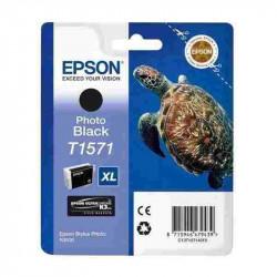 Cart EPSON - T1571 - Tortue - Noir photo - Stylus Photo R3000