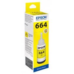 Bouteille EPSON - T6644 - Jaune 70ml - EcoTank L386/L3060 - 7500p