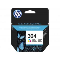 Cart HP N°304 Couleurs - N9K05AE - Deskjet 3720/3730/3752