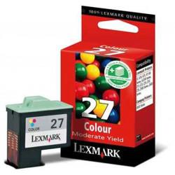 Cart LEXMARK N°27 couleurs - 10N0227 -  Z25/35/Z605