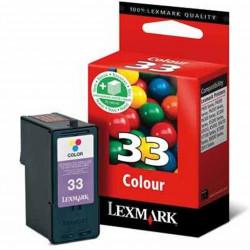 Cart LEXMARK N°33 couleurs -  18C0033 - P315/915/6250 - X5250/7170