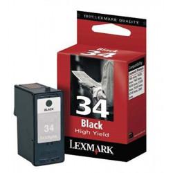 Cart LEXMARK N°34XL Noire (hte capacité) - 18C0034 - X5250/5270/7170