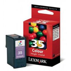 Cart LEXMARK N°35XL Couleurs (hte capacité)- 18C0035 - P315/915/6250*