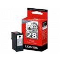 Cart LEXMARK N°28 Noire - 18C1428A - X2550 - Z1320 **