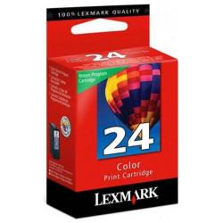 Cart LEXMARK N°24 Couleurs - 18C1524A - X3550/4550 - Z1420 **