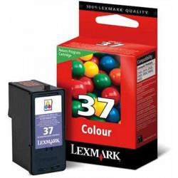 Cart LEXMARK N°37 Couleurs - 18C2140A - X3650