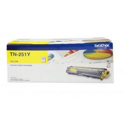 Toner BROTHER - TN-251Y - JAUNE - HL-3150CDN/3170CDW - ASIE