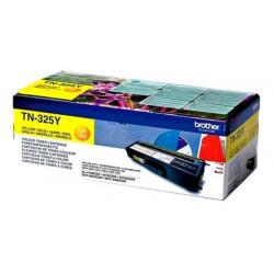 Toner BROTHER - TN-325Y - Jaune - HL-4140/4150-MFC9055 (3 500 pages)