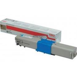 Toner OKI - C301/321 - Cyan - Réf :  44973535