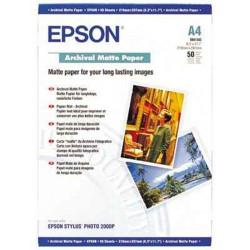 Papier photo EPSON A4 Archival mat - 189g (50 feuilles)