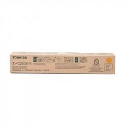 Toner TOSHIBA T-FC200EY - Jaune - e-STUDIO2000 / 2500AC - (33600