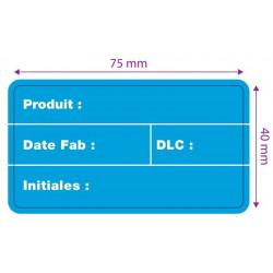 Rouleau etiq. ext DLC (dim: 75 x 40mm) 1000 etiq.